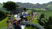 मकवानपुरगढी गाउपालिकाको वडा न २, मा निर्माण को लागि प्रस्तावित ढुंगे गढी आनन्द पार्क
