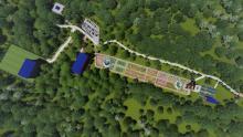 मकवानापुरगढ़ी गाउपालिका वडा न १,रनिसेरमा निर्माण को लागि प्रस्तावित रानीबास कृषि पर्यटन पार्क