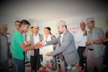 शिक्षा ३९ औं शिक्षा दिवस तथा अन्तराष्ट्रिय साक्षरता दिवसको दिन विद्यार्थी सम्मान कार्यक्रम